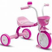 Triciclo Infantil Rosa Menina 3 Rodas Nathor You 3 Girl