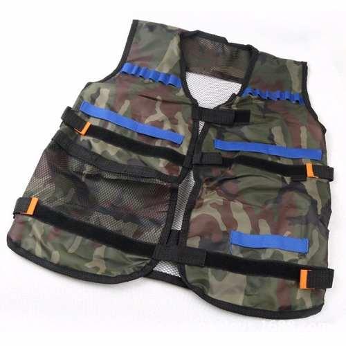 Colete Tactical Munição Armas Nerf