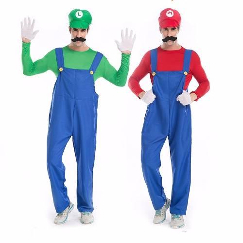 Fantasia Super Mario Ou Luigi Cosplay