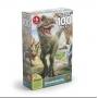 Quebra Cabeça P100 Dinossauros Puzzle Grow