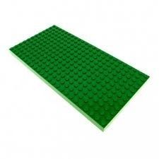 5 Un Base Plate 16x32 Compativel Lego Pronta Entrega