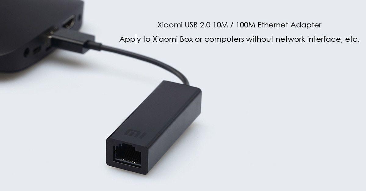 Adaptador Ethernet Conversor USB Para RJ45 Xiaomi Original
