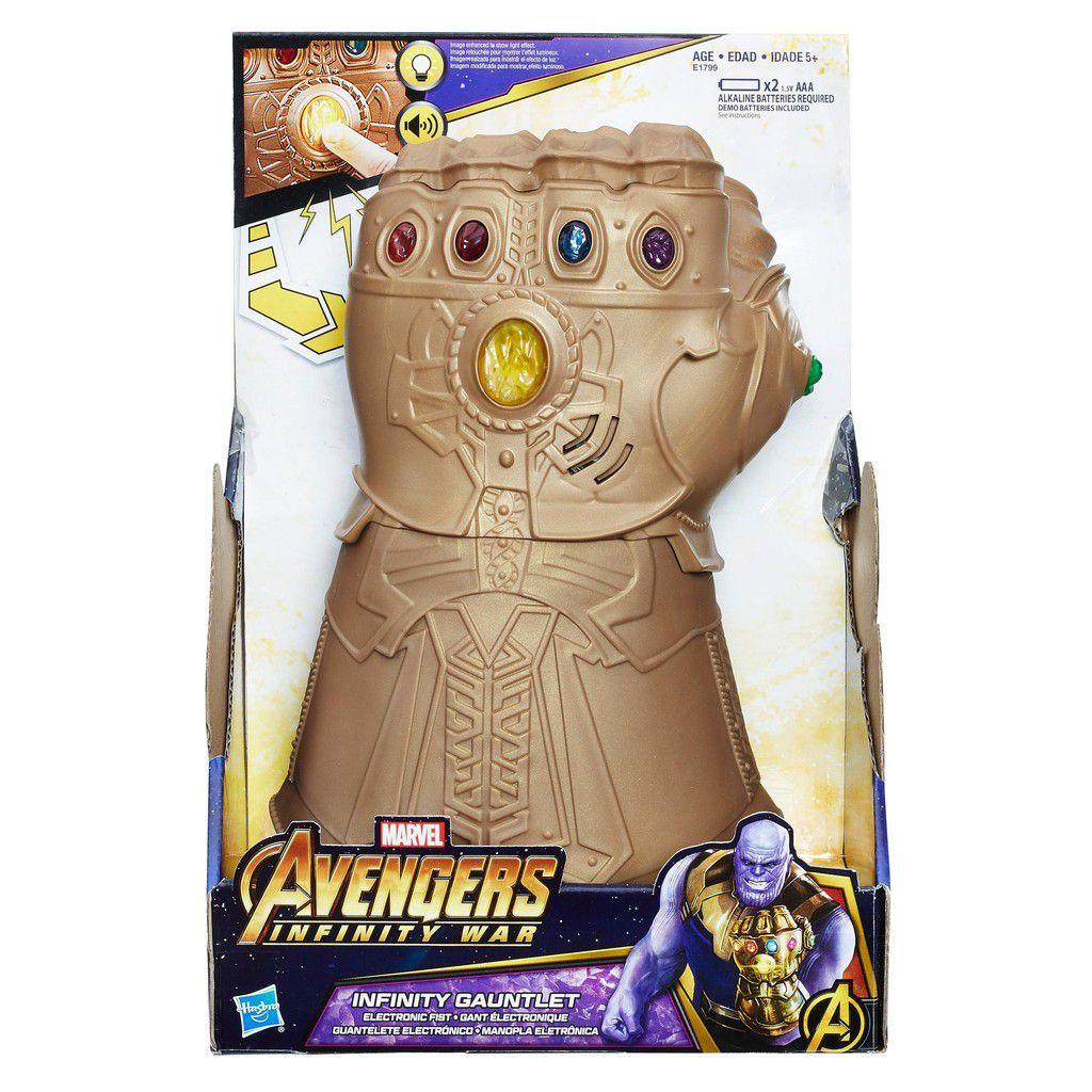 Manopla Do Infinito Thanos Vingadores E1799 Original