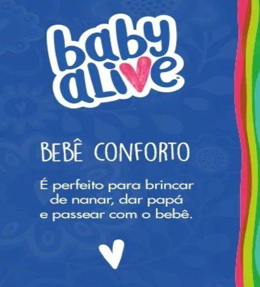 Baby Alive Bebê Conforto Boneca Cotiplás 2131
