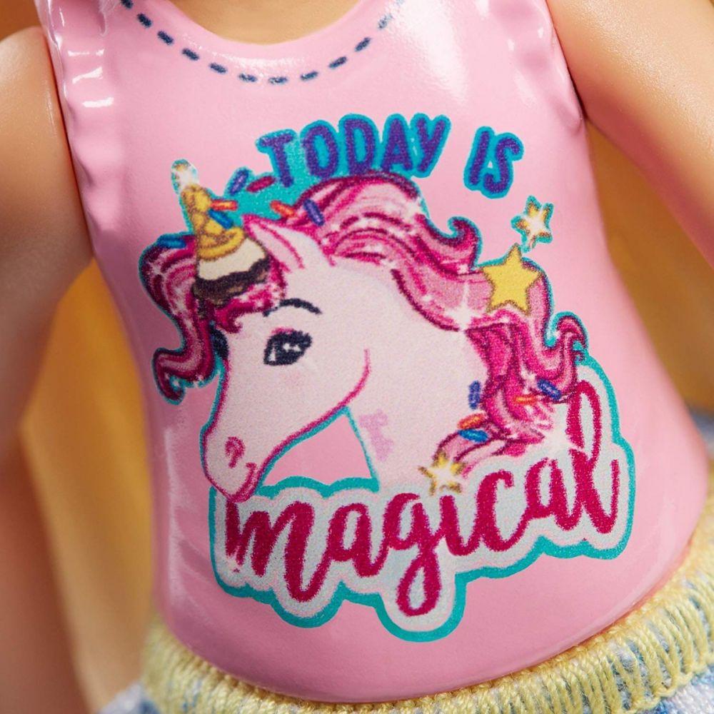 Barbie Club Chelsea Loira Unicórnio Mattel