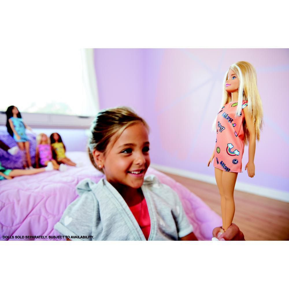 Barbie Fashionista Vestido Loira Mattel