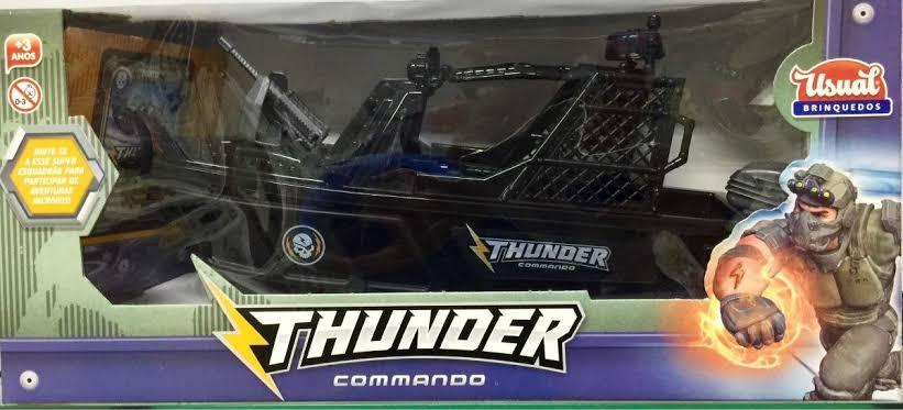 Barco Infantil Thunder Commando Brincar Na Piscina Preto