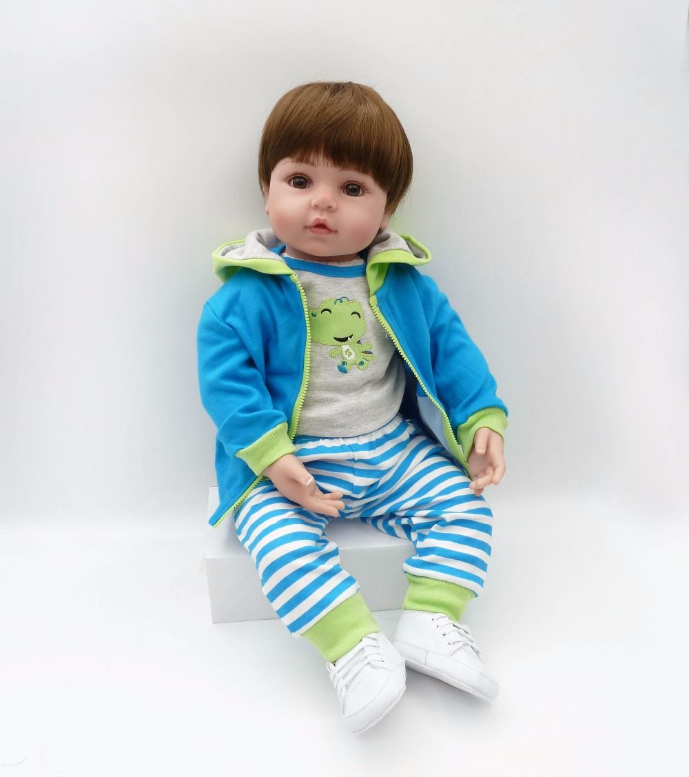 Boneca bebe Bebê Reborn Menino Miguel