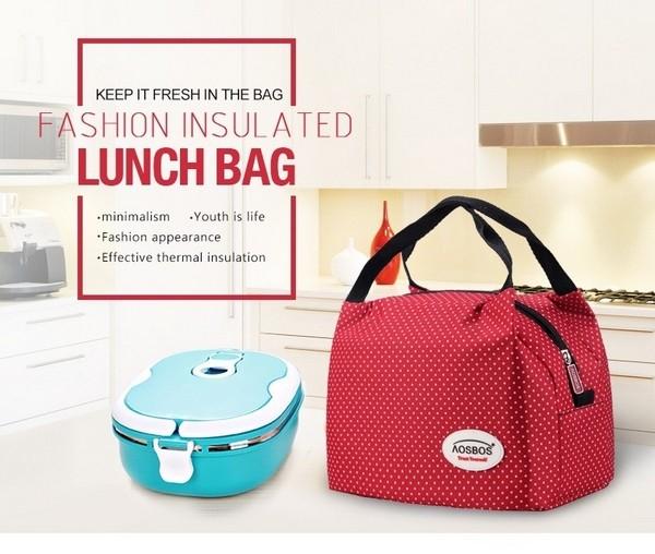 Bolsa Feminina Com Compartimento Para Marmita : Bolsa t?rmica pequena feminina para marmita
