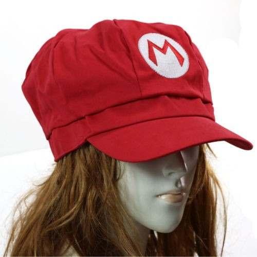 Bone Mario Boina Mario Chapeu Mario Ou Luigi Cosplay Adulto