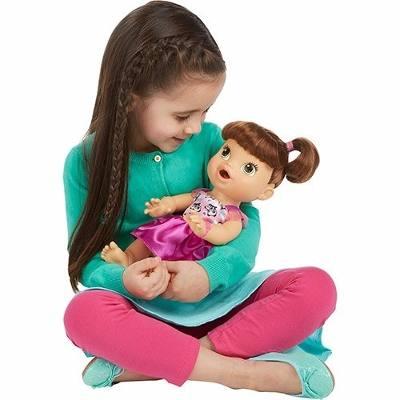 d6d5718bf Boneca Baby Alive Hora de Comer Morena A8346 Hasbro