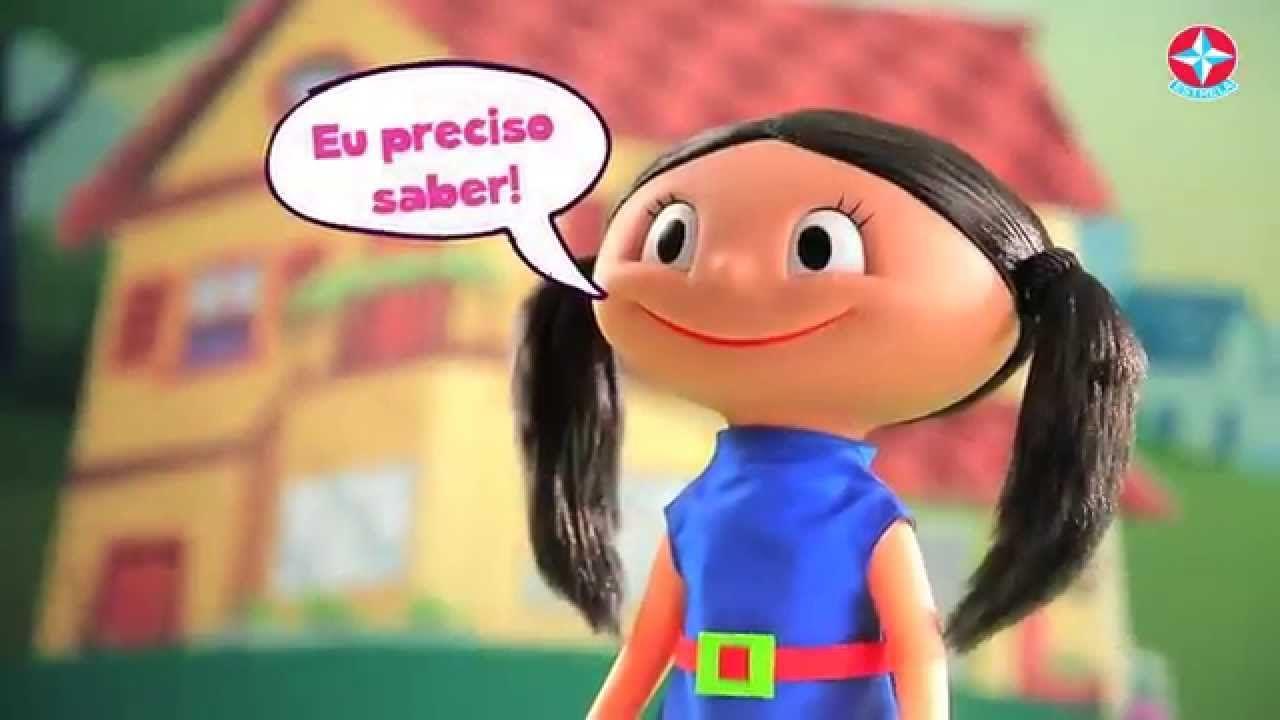 Boneca Show Da Luna 40cm Canta E Fala Em Portugues Estrela