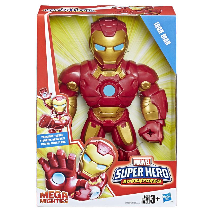 Boneco Marvel MEGA MIGHTIES Homem de Ferro – Hasbro