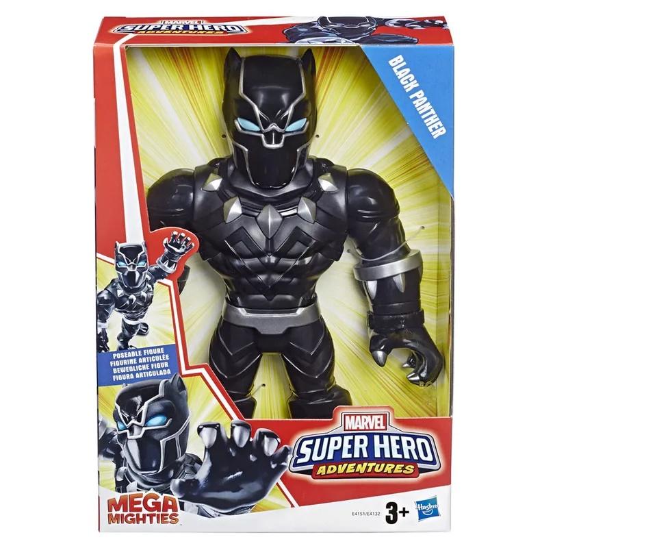 Boneco Marvel MEGA MIGHTIES Pantera Negra – Hasbro