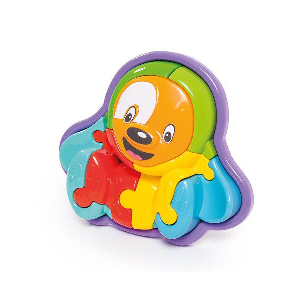 Brinquedo Infantil Educativo Quebra Cabeça 3d Cachorro