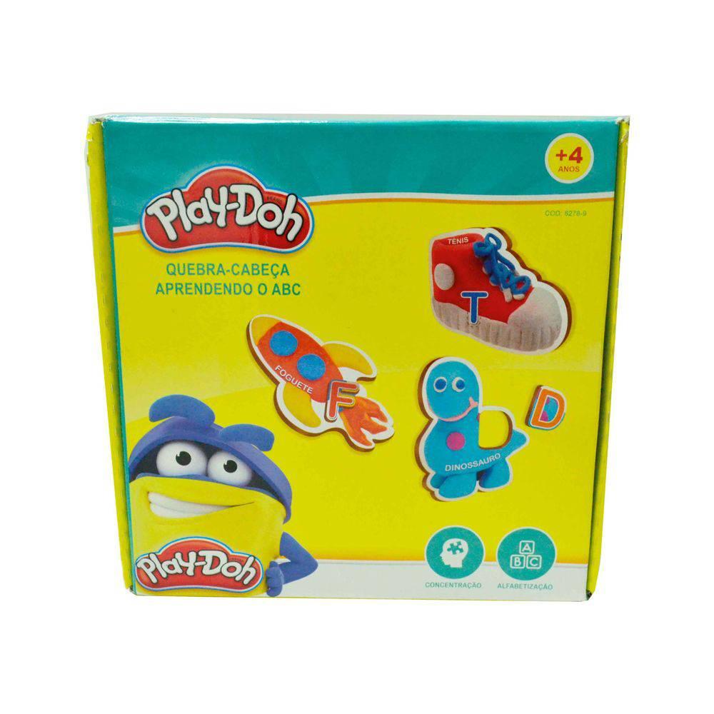 Brinquedo Play-doh Aprendendo O Abc Divirta-se Hasbro