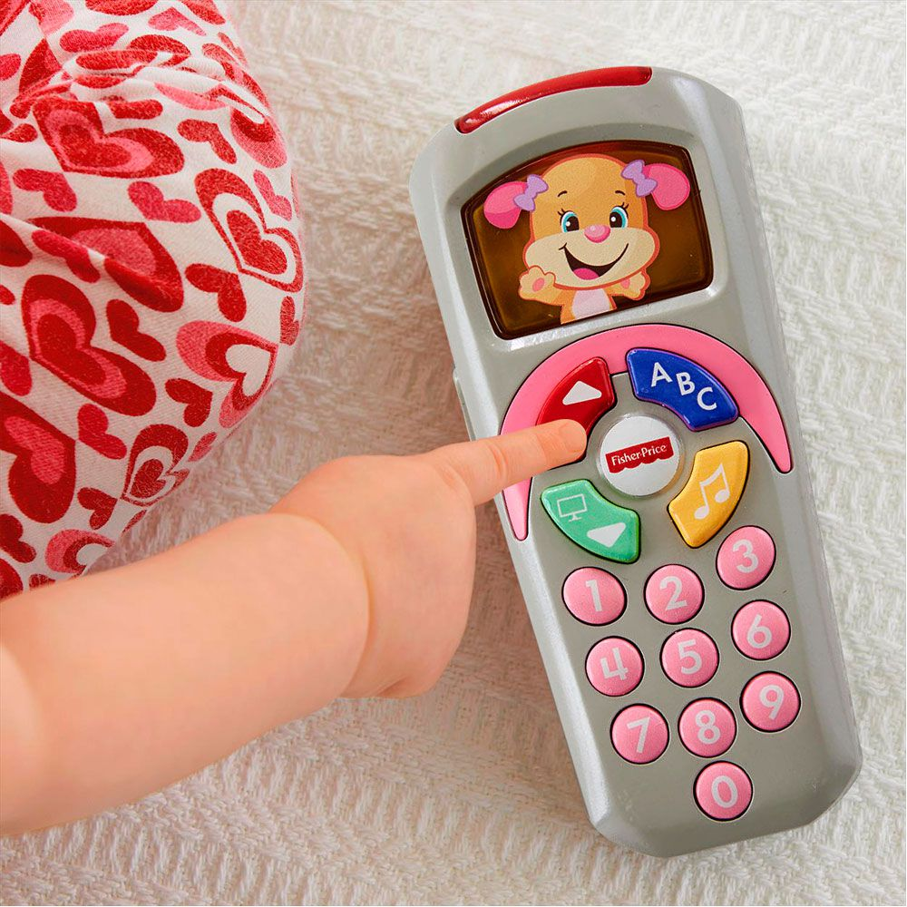 Controle Remoto Rosa Fisher Price Mattel Dlh40 060721