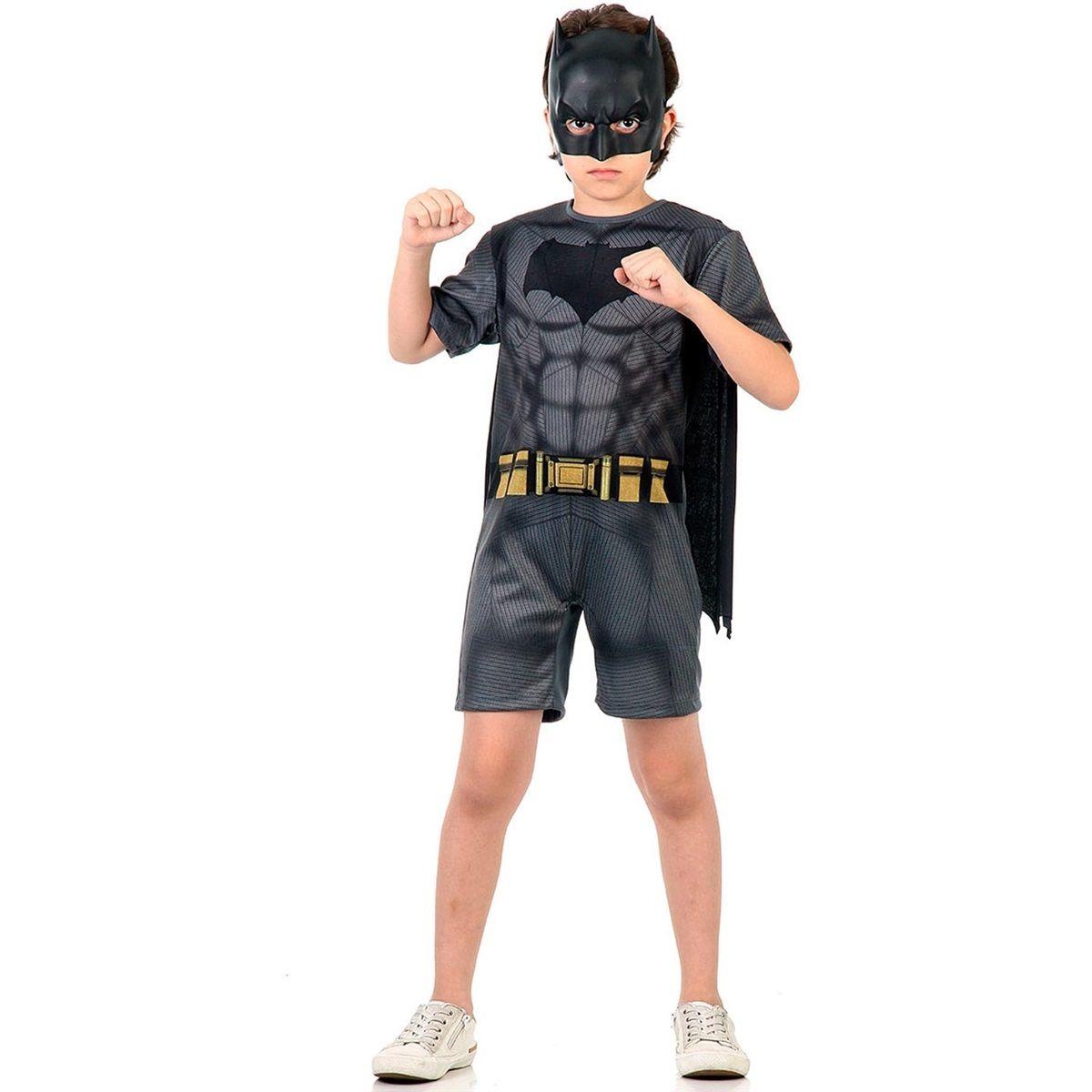 Fantasia Batman Infantil Curta Batman Vs Superman