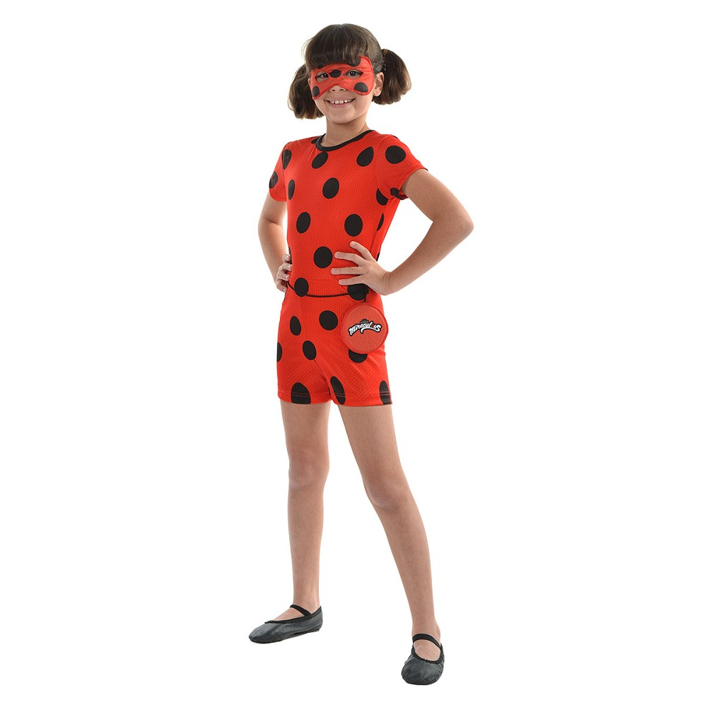 Fantasia Ladybug Miraculous Curta Original Sulamericana