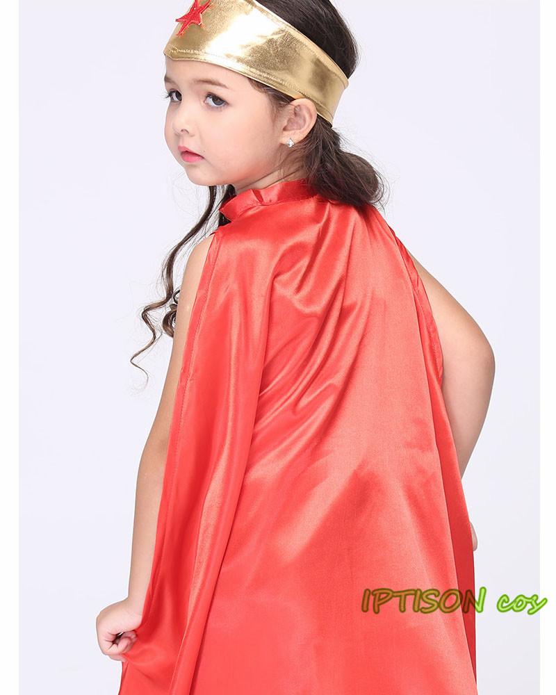 Fantasia Mulher Maravilha Infantil Luxo Com Todos Acessórios