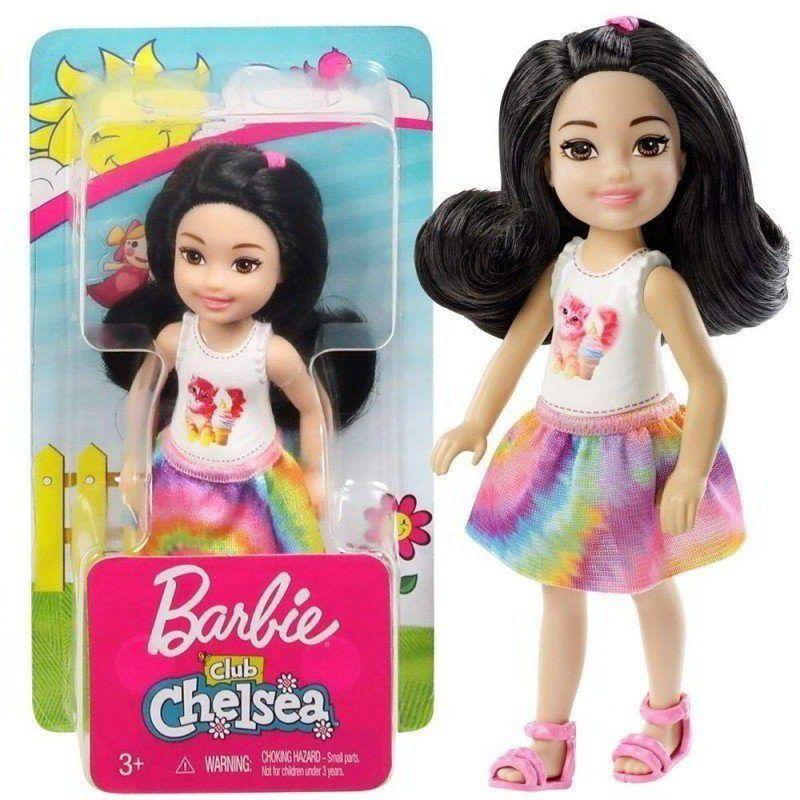 Família Barbie Club Chelsea  Gato E Sorvete Mattel
