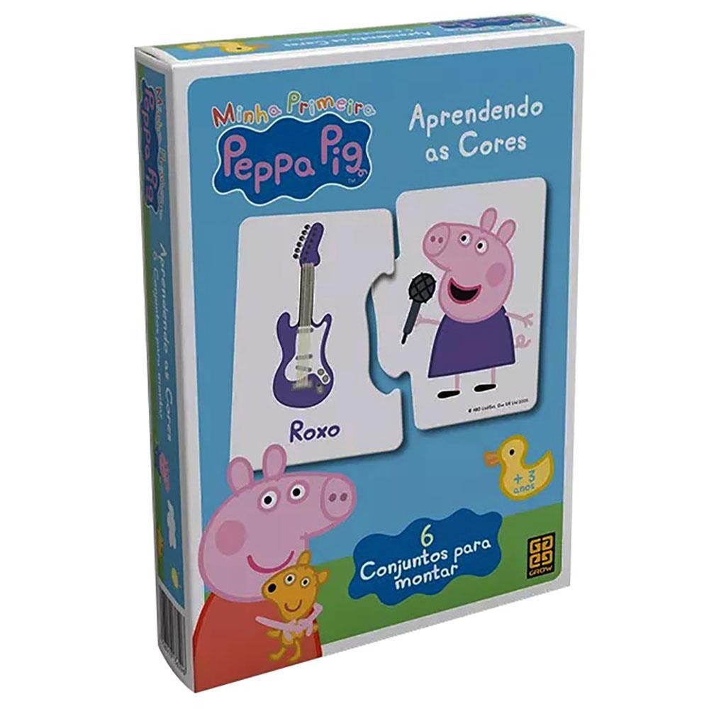 Jogo Aprendendo As Cores Peppa Pig Grow