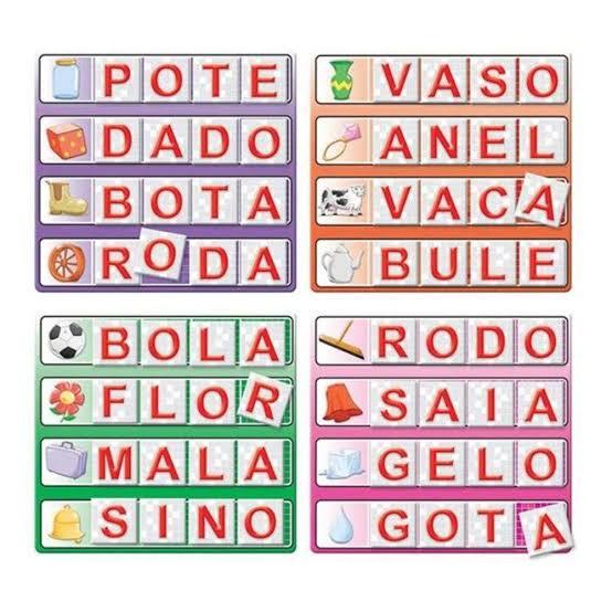 Jogo Bingo Letras 02320 Grow