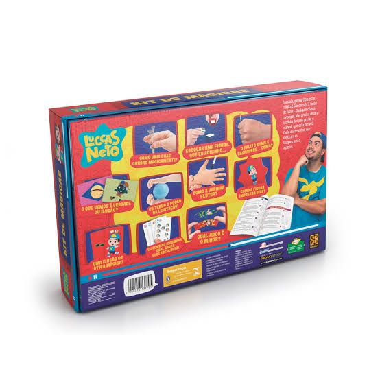Jogo Kit de Mágicas Luccas Neto Grow 03770