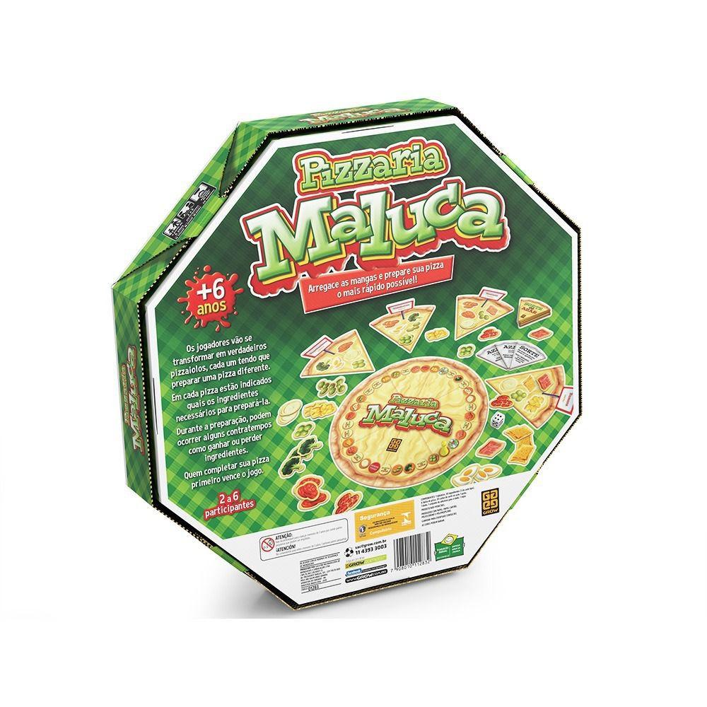Jogo Pizzaria Maluca Grow Pizza 01283