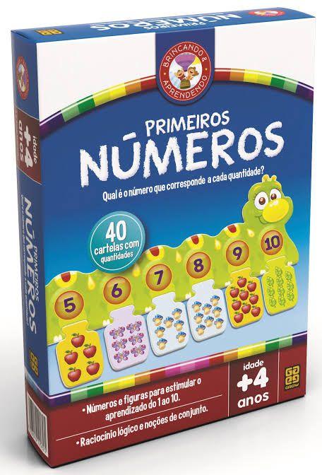 Jogo Primeiros Números 02582 Grow