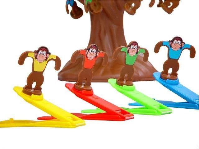 Jogo Pula Macaco Na Arvore Com Banana Estrela