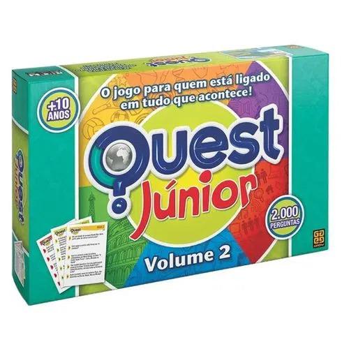 Jogo Quest Júnior Vol. 2 Grow