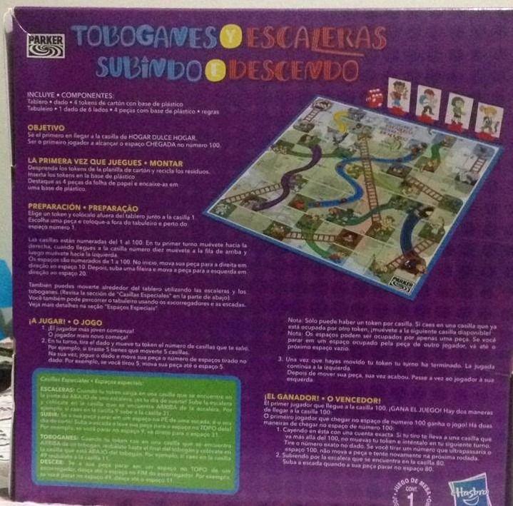 Jogo Subindo e Descendo Hasbro 13226 E2369