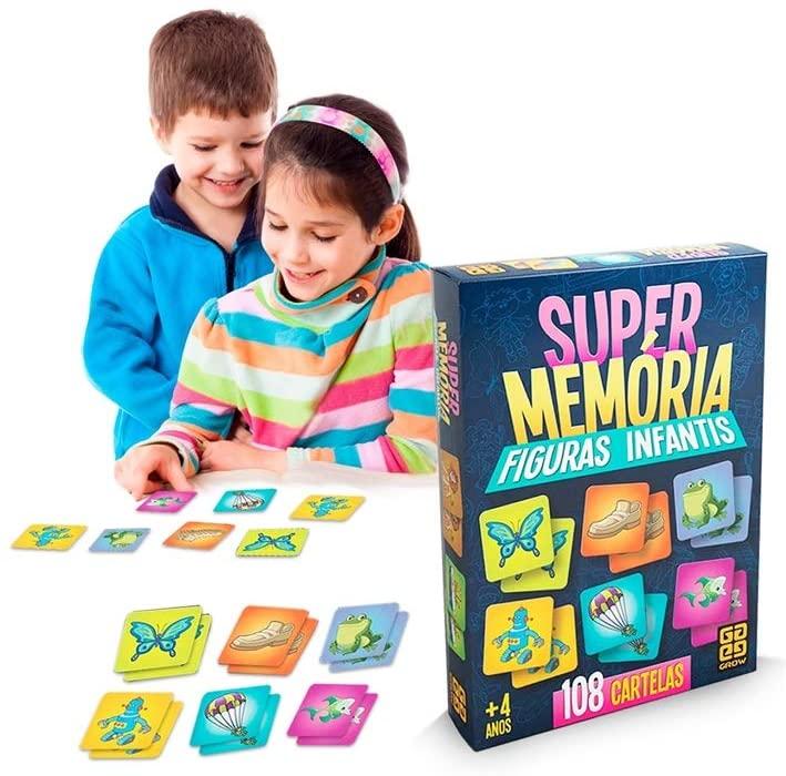 Jogo Supermemória Figuras Infantis