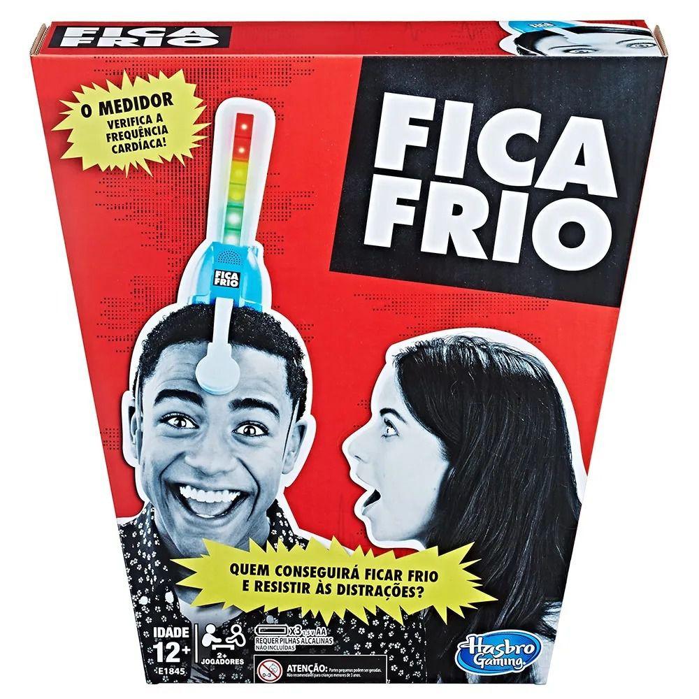 Jogo Tabuleiro Fica Frio Original Hasbro E1845