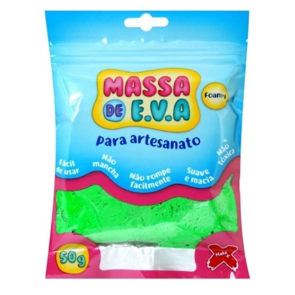 Kit 20 Unidades Massa De Eva Foamy Artesanato 50g