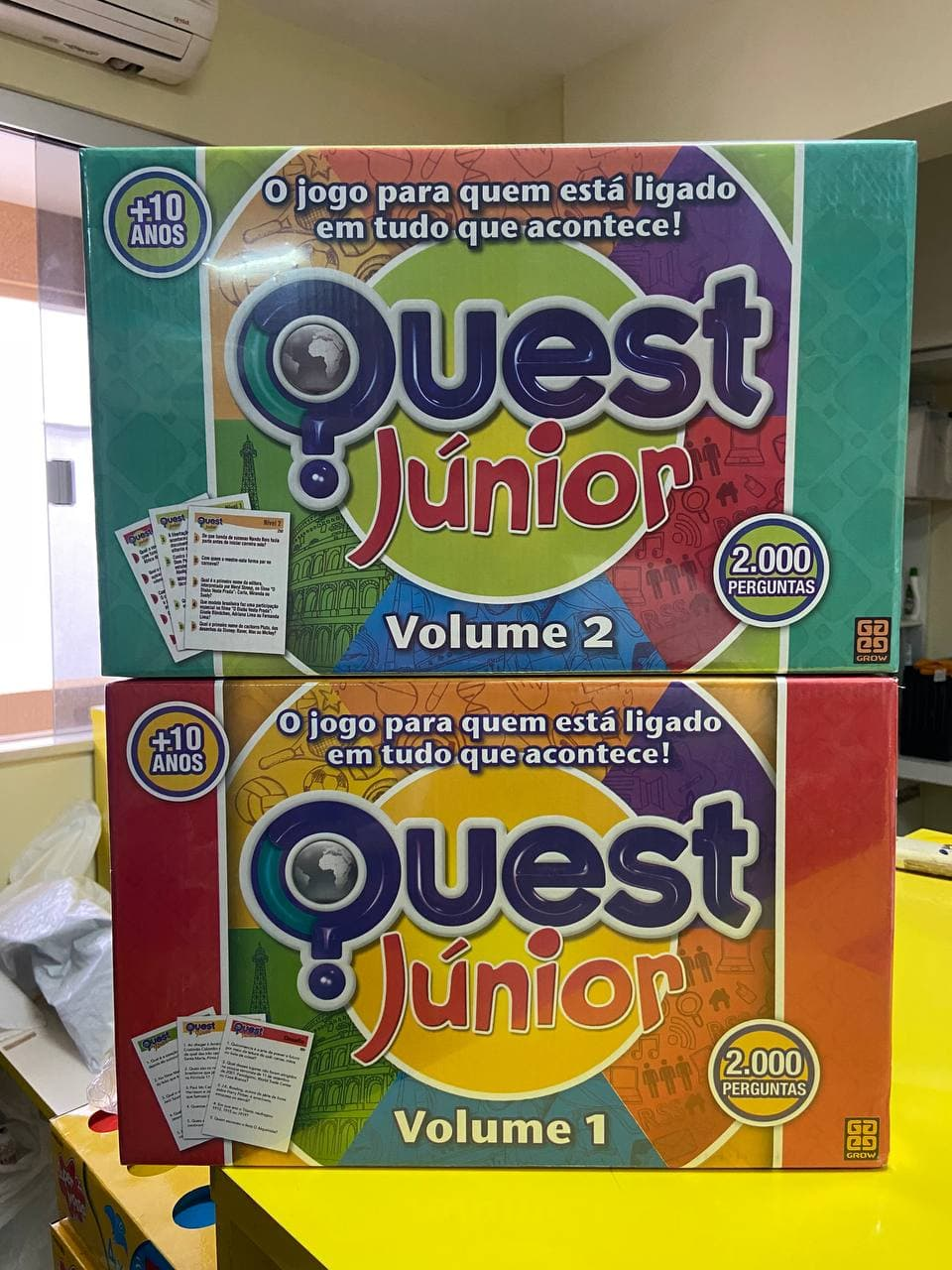 Kit Jogos Quest 1 e 2