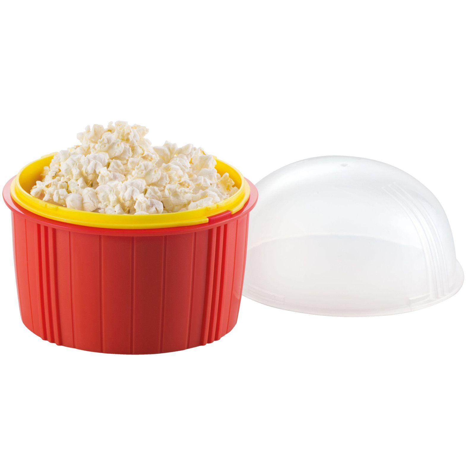 Kit 1 Pipoqueira De Microondas + 1 Ovo Fácil Cheff DTC