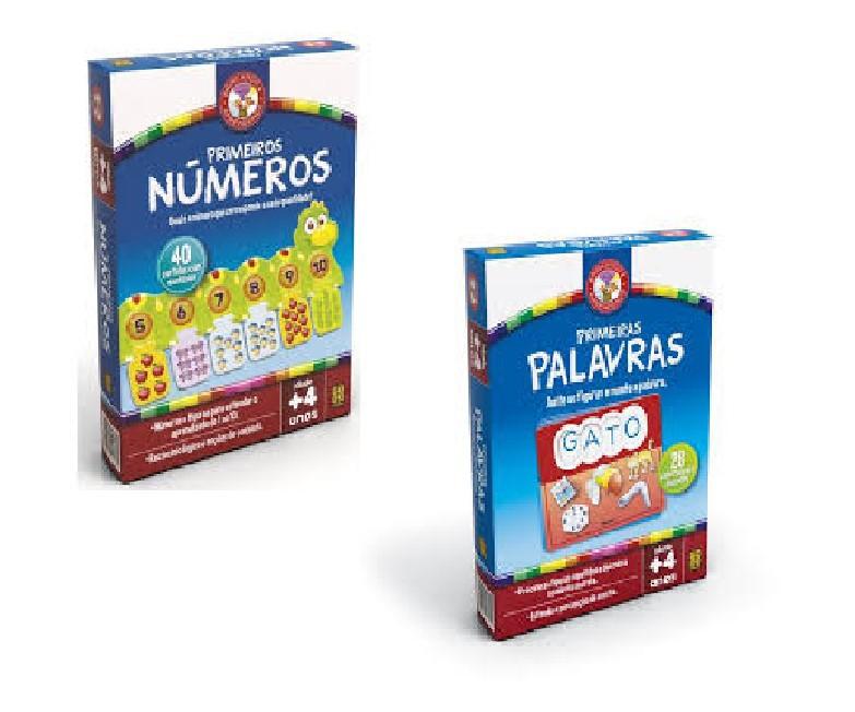 Kit Primeiras Palavras e Primeiros Números Grow