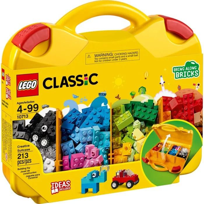 Lego Classic Maleta Da Criatividade Blocos de Montar 10713