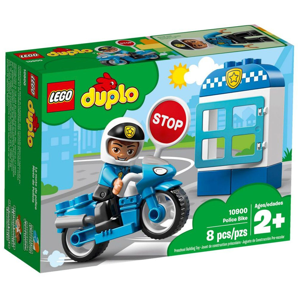 Lego Duplo Moto Policial 10900