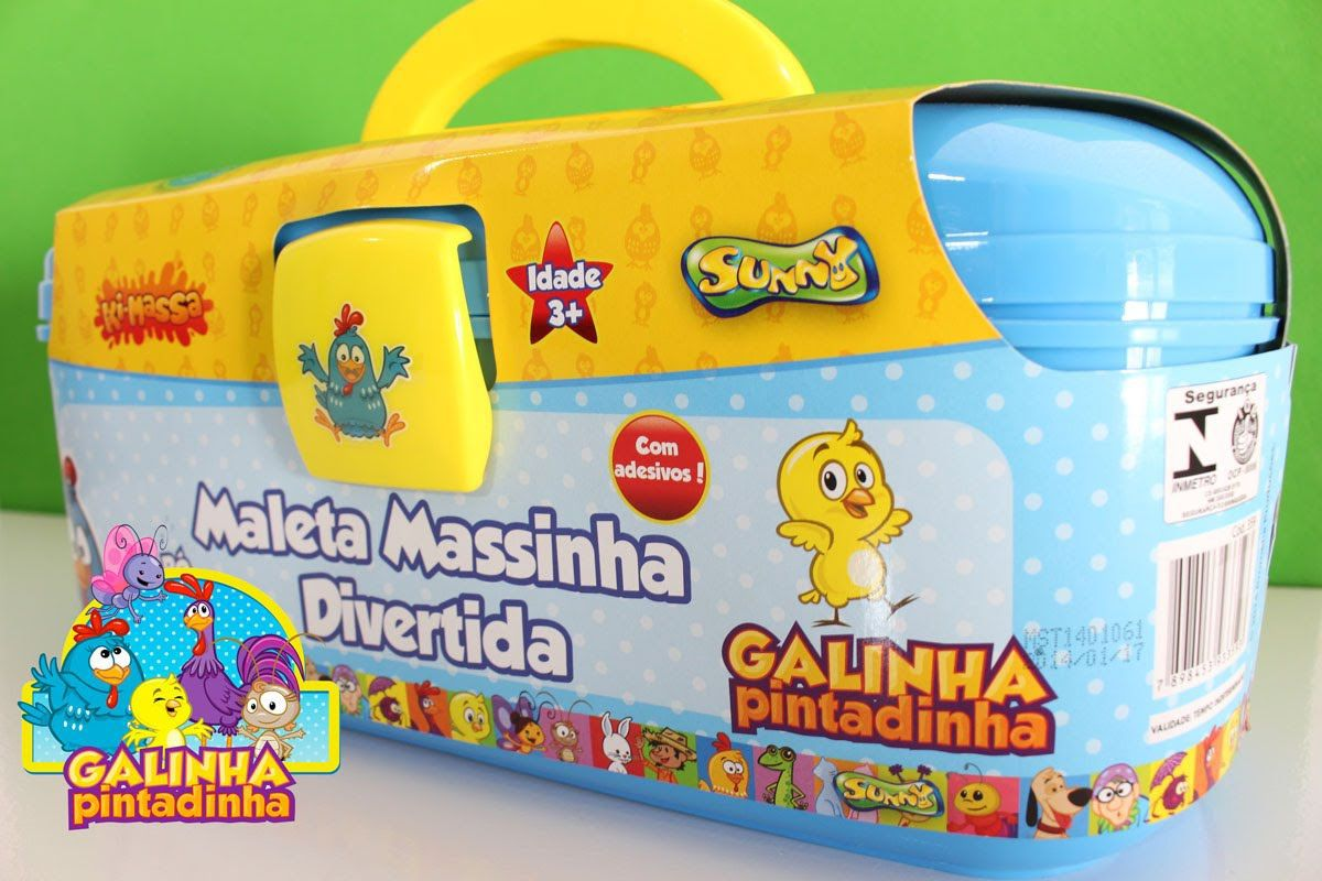 Ki-massa Galinha Pintadinha Maleta Massinha Divertida
