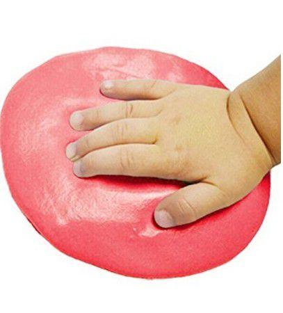 Argila Macia Azul Rosa Molde Recordação Pé Mão Bebê