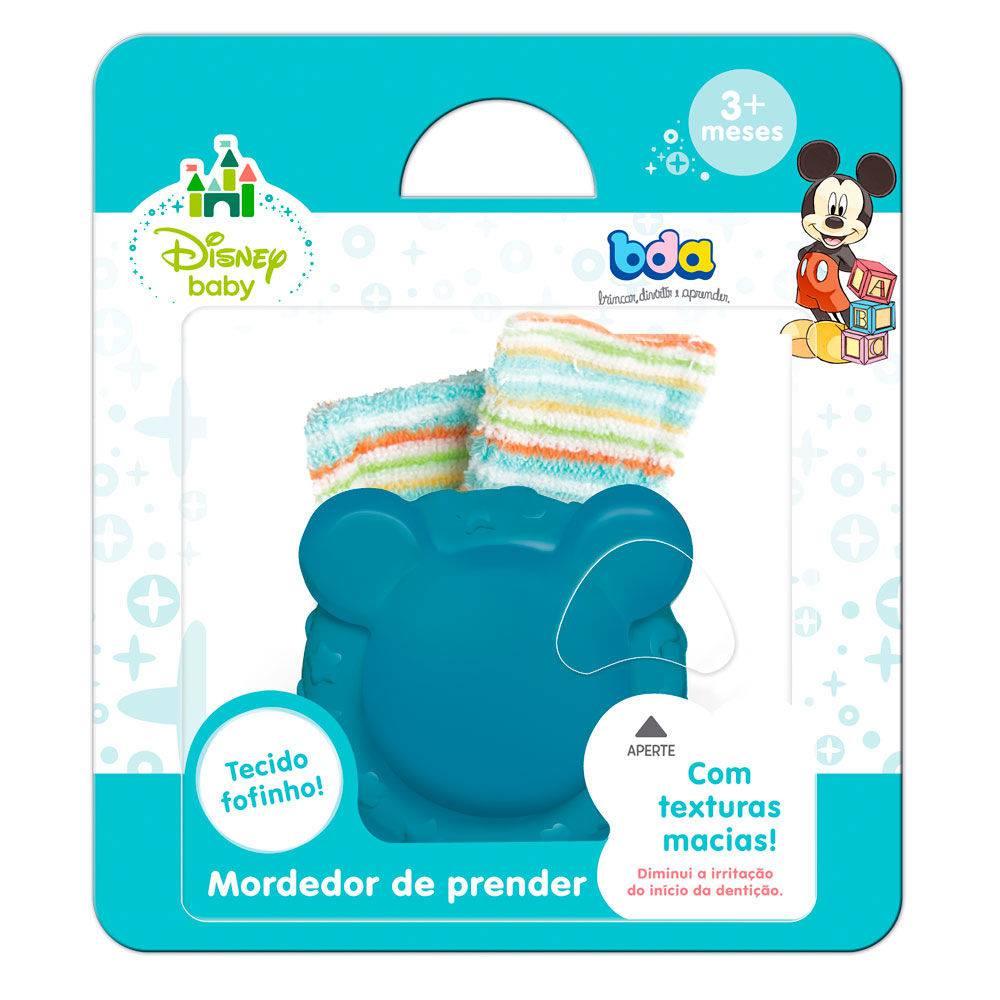 Mordedor De Pulso Disney Baby Rosa Ou Azul Bda