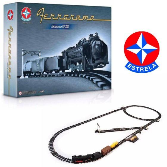 Ferrorama Locomotiva Trem XP 300 Da Estrela