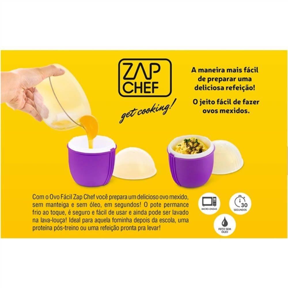 Ovo Fácil Zap Chef Dtc Ovo Mexido De Microondas