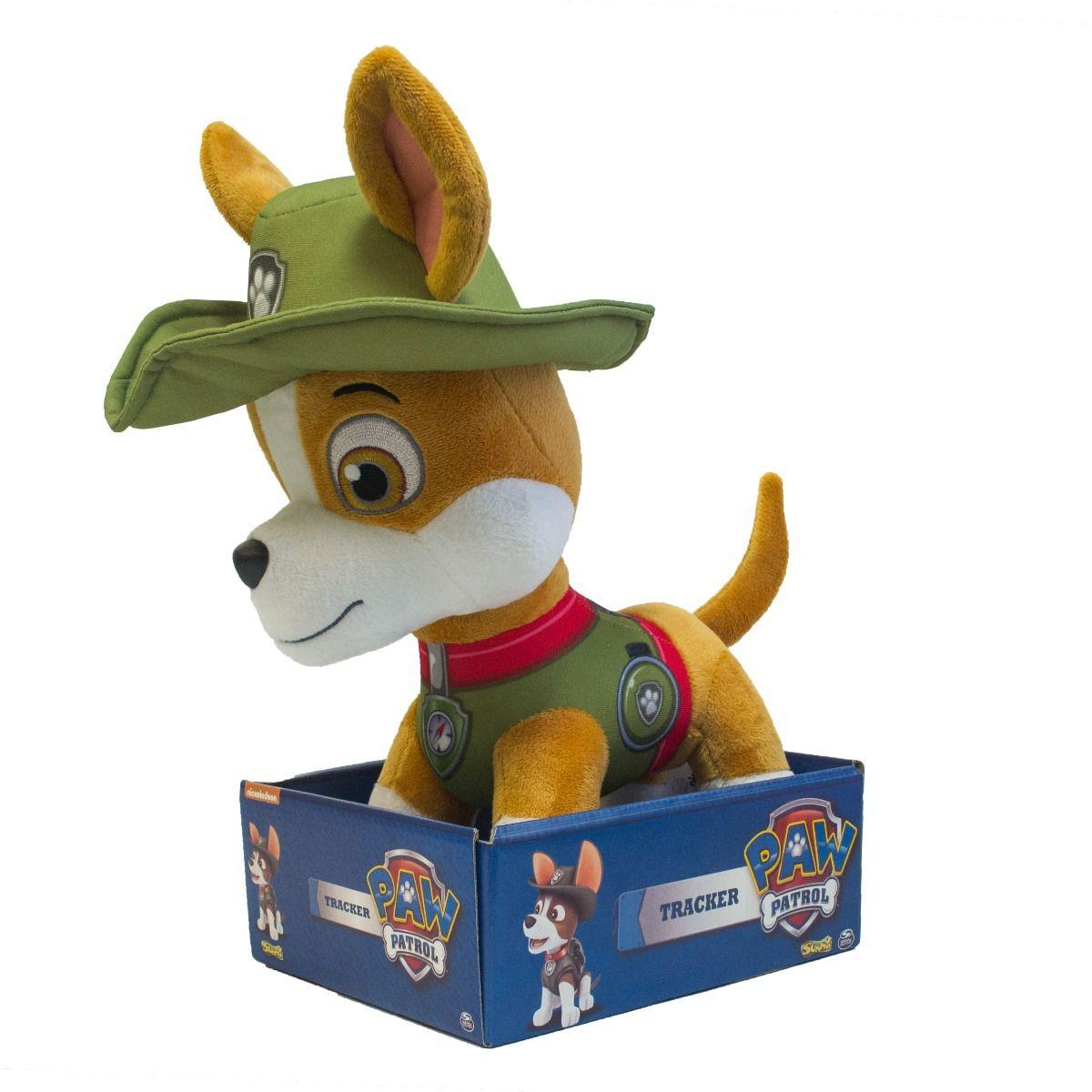 Pelucia Patrulha Canina Tracker 12 Tamanho Grande Sunny 30cm