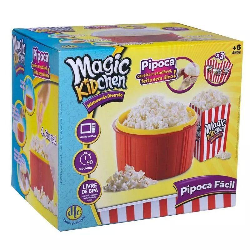 Pipoqueira De Microondas Pipoca Fácil Magic Kidchen Dtc