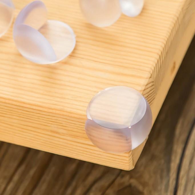 kit c/ 10 Protetor Quinas mesa vidro segurança bebê criança