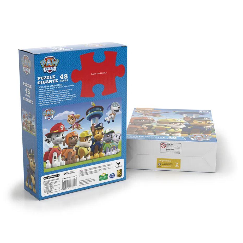 Puzzle Gigante 48 peças Patrulha Canina